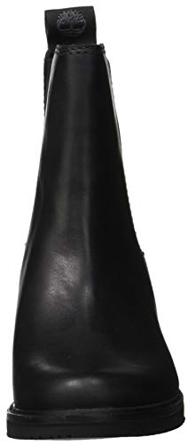 Chevalier jet Black Timberland Femme Bottes Eurovintage 15 Mont Chelsea Noir C6AqwSRxHq