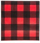 Red Black Buffalo Check Plaid Napkins Party 25 Ct.