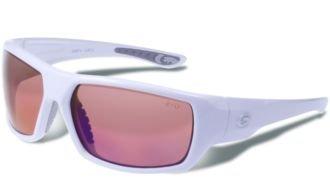 - Polarized Eyewear, Blue Mirror, White