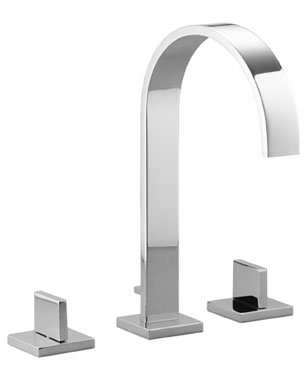 Dornbracht 20715782-000010 - Three-hole lavatory mixer with individual flanges ()