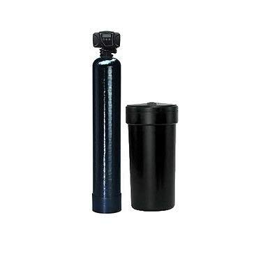 Premier Whole House Water Softener System | 32,000 Grain, 1 cu ft. Upgraded 10% Resin | 1-3 PERSON HOME