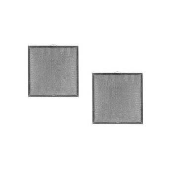 2 PACK Air Filter Factory Compatible Replacement For Broan AP5610404 Range Hood Aluminum Grease Filter