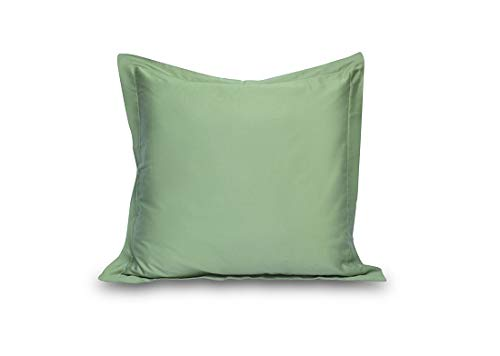- Acrilan Bedding Sage Pillow Shams Set of 2 - Luxury 600 Thread Count 100% Egyptian Cotton (2 Pack, Euro 26x26)