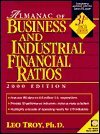 Almanac of Business and Industrial Financial Ratios, 2004, Troy, Leo, 0735543194