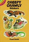 Creepy Crawly Stickers, Frank Daniel, 0486274551