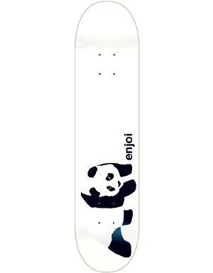 ENJOI WHITEY PANDA Skateboard Deck-7.75 resin 7 w/ MOB - Panda Skateboard Deck Resin