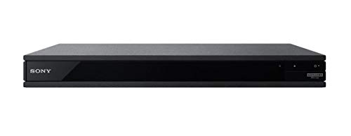 Sony Region Free UBP-X800 / UBP-UX80 4K Ultra HD Blu-ray Player UHD Multi Region Blu-ray DVD, Region Free Player 110-240 Volts, HDMI Cable & Dynastar Plug Adapter Package