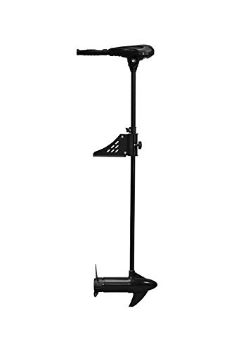 "Newport Vessels 55lb Thrust Saltwater Electric Pontoon Trolling Motor with Deck Mount Bracket & 55"" Shaft"