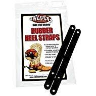 Weaver Leather Rubber Heel Straps