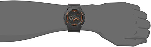Casio-Mens-GA-110TS-1A4-G-Shock-Analog-Digital-Watch-With-Grey-Resin-Band