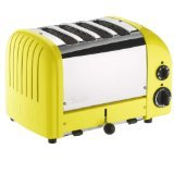Dualit 4 Slice Classic Toaster, Citrus Yellow