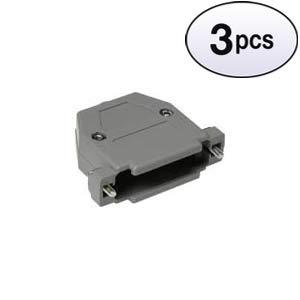 (GOWOS (3 Pack) DB25 Plastic Hoods Screw Type)