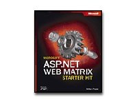 Microsoft Press 0-7356-1856-9 Asp.net Web Matrix Starter Kit