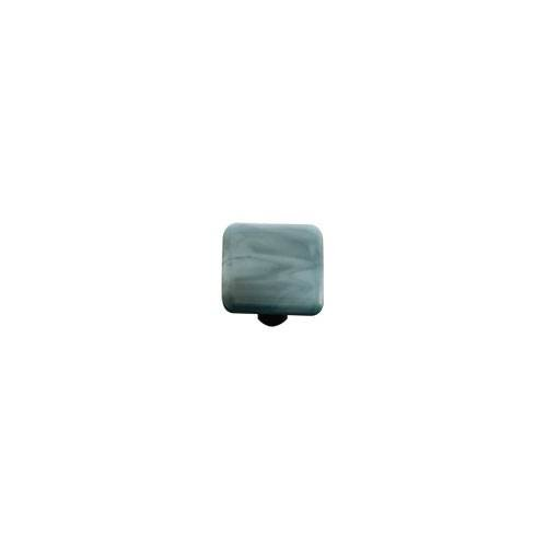 Powder Blue Swirl Knob (Set of 10) (Black)