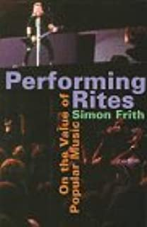 On record rock pop and the written word simon frith andrew performing rites on the value of popular music fandeluxe Images