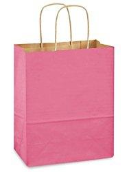 クラフトTintedカラーショッピングバッグ – 8 x 4 1 2 x 10 1 4インチ、Cub B071FFT2FD
