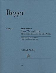 - Serenades For Flute (Violin) Violin And Viola Op 77a And Op 141a