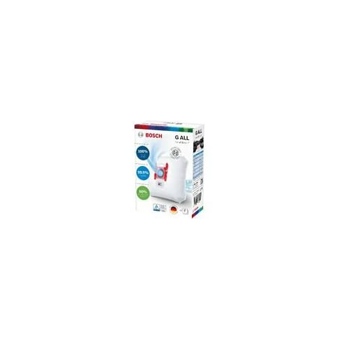 Bosch Megaair Super Tex Type G Xxl Vacuum Bag Large 5 Litre Capacity Pack Of 4 And Includes A Micro Hygiene Filter For The Motor - 21VQl1VBoKL - Bosch Megaair Super Tex Type G Xxl Vacuum Bag Large 5 Litre Capacity Pack Of 4 And Includes A Micro Hygiene Filter For The Motor