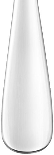 AmazonBasics 20-Piece Stainless Steel Flatware Set with Round Edge, Service for 4
