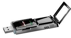 Verizon Wireless Novatel Ovation USB727 USB Modem -Piano Black- by Novatel Wireless
