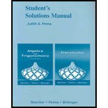 College Algebra and Trigonometry and Precalculus, Beecher, Judith A. and Penna, Judith A., 0321466446
