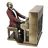 - Piano Player Pianist Statue Sculpture - Jazz Band Collection