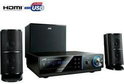 JVC NX-F40 sistema de cine en casa 2.1 canales 400 W Negro: Amazon ...