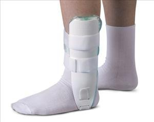 - Ankle Support, Stirrup, Air/Foam, Univ, Ea