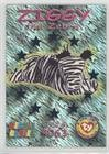 Wild Cards - Ziggy the Zebra (Trading Card) 1999 Ty Beanie Babies Series 3 - [Base] - Chase Teal #51