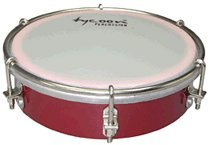 Download 6 Wooden Tamborim - Red - Tycoon Percussion pdf