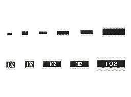Resistor Networks /& Arrays Resistor Array Chip 0302 4 Elements 1 piece