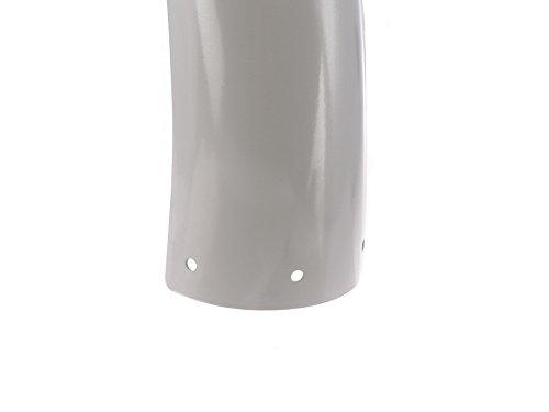 FEZ Kotfl/ügel hinten S70 f/ür Simson S50 S51 Silber pulverbeschichtet