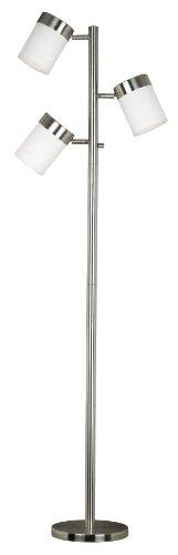 Kenroy Home 20970BS Roarke Tree Lamp, Brushed Steel