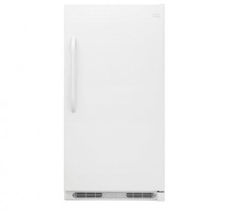 Frigidaire FFRU17G8QW 34' Freestanding All Refrigerator with 16.6 cu. ft. Capacity Frost Free SpaceWise Adjustable Shelving and Baskets Bright LED Lighting and Glass Shelves in