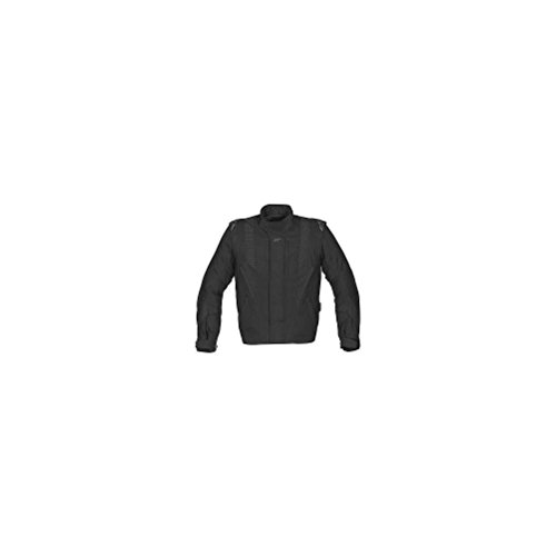 Alpinestars P1 Sport Touring Drystar Textile Jacket , Size: 2XL, Apparel Material: Leather, Primary Color: Black, Gender: Mens/Unisex, Distinct Name: Black 320759102XL