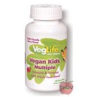 VegLife – Childrens – Vegan Kids Multiple Berry – 60ct Chew For Sale