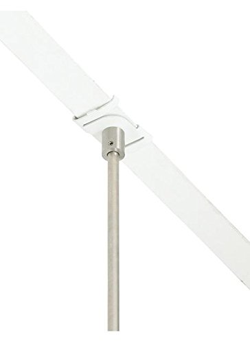 MO-T-bar clip 9/16IN, wh (T-bar Drop Ceiling Connector)