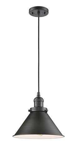 - Innovations Lighting 1 Light Vintage Dimmable LED Briarcliff 10 inch Mini Pendant