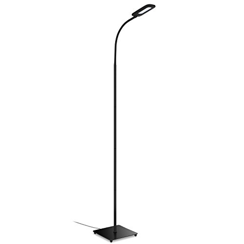 Aglaia Floor Lamp 6 8w Led Dimmable Gooseneck Floor Standing Lamp With 3 Level Brightness By