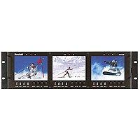 - Triple 5.6IN LCD Rack Mount Panel
