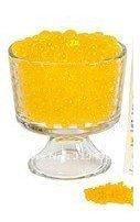 JellyBeadZ Brand Water Bead Gel - 2 Ounce Pack - Golden Yellow (Flower Golden Yellow)