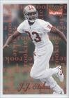 J.J. Stokes (Football Card) 1995 Skybox Premium - Rookie Receivers #3