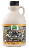 NOW Foods Real Food Organic Maple Syrup -- 32 fl oz by NOW Foods