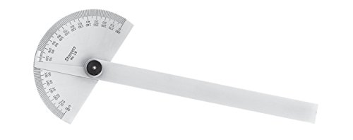 Starrett C19 Chrome Protractor