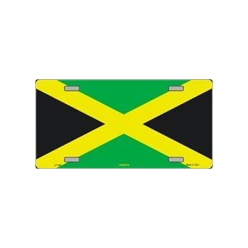 "Jamaica Jamaican 6/""x12/"" License Plate Sign"