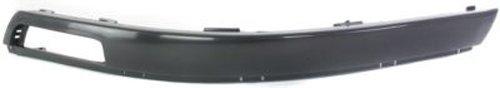 CPP Black Front, Driver Side Bumper Trim for 2001-2005 Volkswagen Passat VW1046101 ()