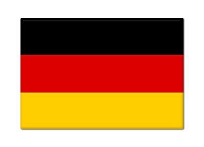 Amazoncom German Flag Germany Fridge Magnet Other Products