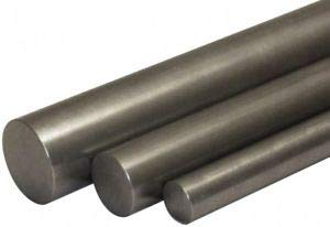 JumpingBolt 2'' Diam x 1' Long, 4140 Steel Round Rod Cold Finish, Annealed, Al. Material May Have Surface Scratches