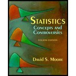Statistics : Concepts and Controversies, Moore, David S., 071672863X