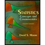 Statistics : Concepts and Controversies, Moore, David S., 071672863X
